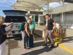 Last goodbyes @ Denver International Airport
