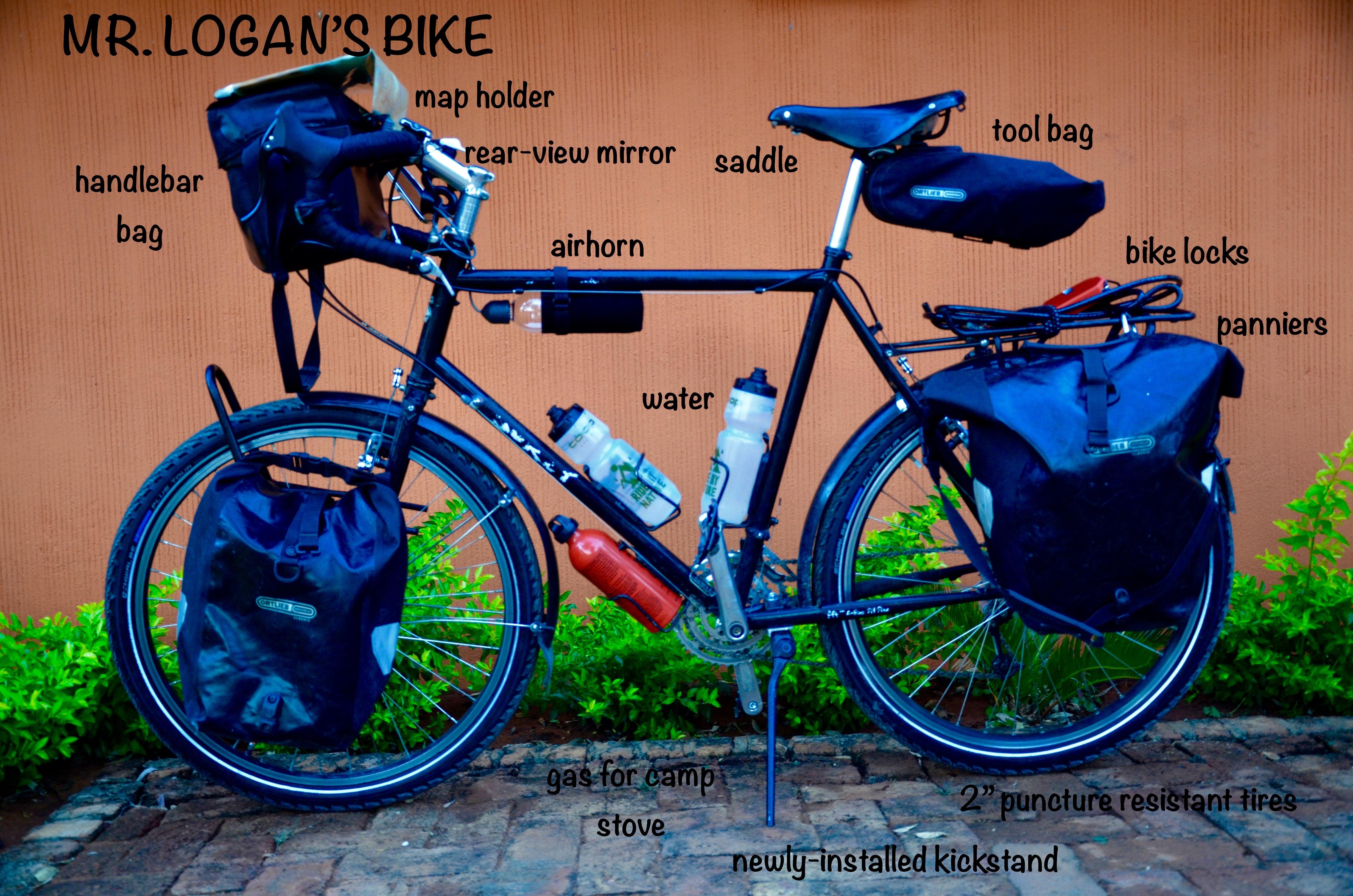 Gearing Up For Africa Logans Biking Adventures