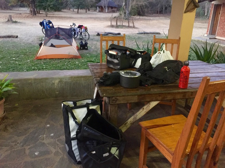 Moorings campsite