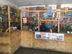 Typical interior of a local shop