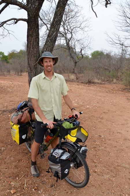 Sam Jack (the only other traveler we've met in Zim)