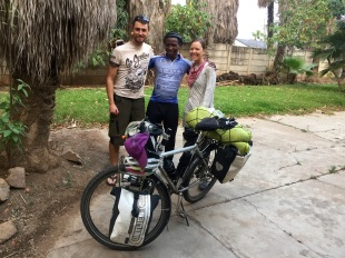 Tirivash, our new cyclist friend we met on the road