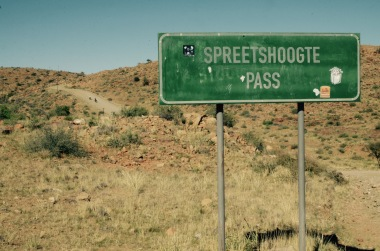 Steepest pass in Namibia