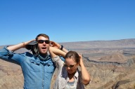 Fish River Canyon - second largest canyon in the world