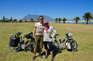 Made it to Cape Town and the iconic Table Mountain!