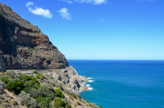 Chapman's Peak drive - said to be on of the most scenic in the world