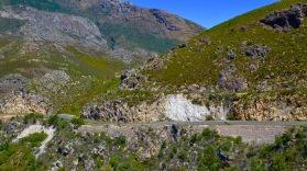 Franschhoek Pass - downhill!