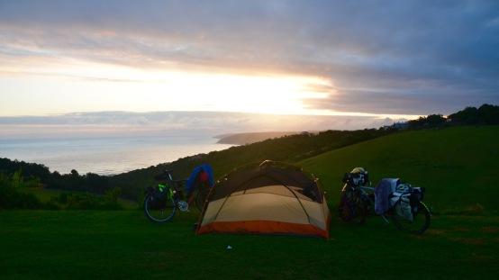 @ Wild farm campsite