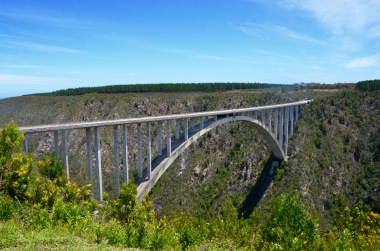 @Bloukrans Bridge Bungy