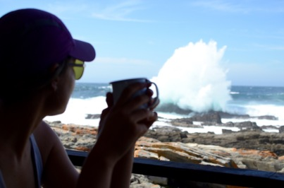 Coffees with a view @ Tsitsikamma National Park