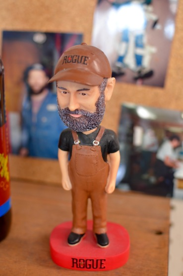 Hey!! That's our friend John as a bobble-head!!! Now we KNOW he's famous.