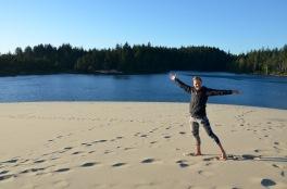 Oregon sand dunes - short hike from Jessie M Honeyman Memorial State Park
